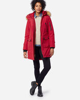 WOMEN'S JACKSON PARKA IN RED