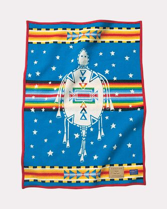 SONS OF THE SKY BLANKET, BLUE, large