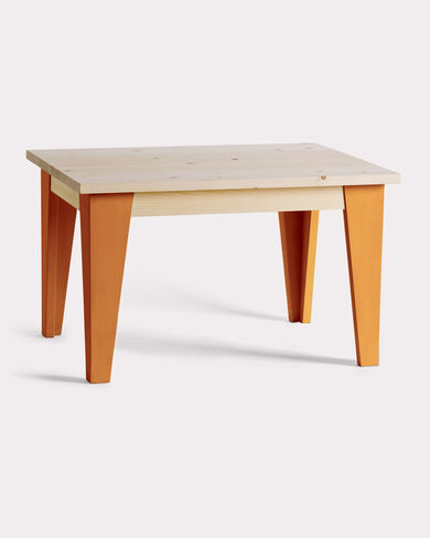 WEE TABLE, ORANGE, large