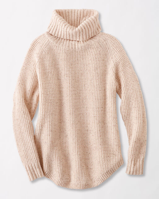 DONEGAL COWL NECK SWEATER