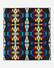 TUCSON TOWEL FOR TWO, BLACK, large