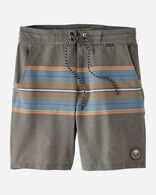 HURLEY X PENDLETON MEN'S BOARD SHORTS IN DARK GREY OLYMPIC
