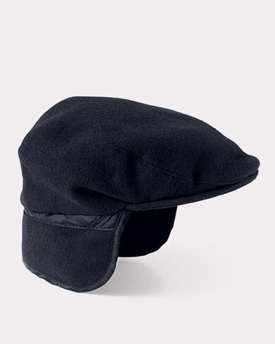 SPORTS CAP WITH CUFF, NAVY, large