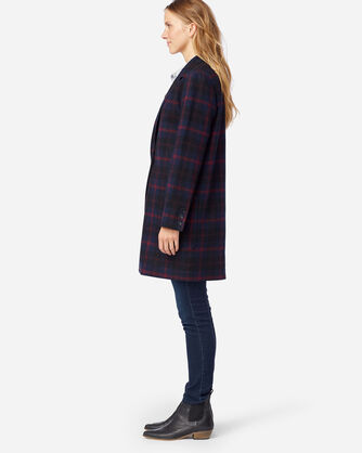 ALTERNATE VIEW OF WOMEN'S HUDSON PLAID WALKER IN NAVY ANGUS TARTAN