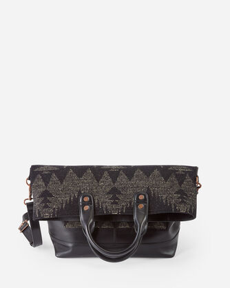 ALTERNATE VIEW OF SONORA LONG TOTE IN BLACK