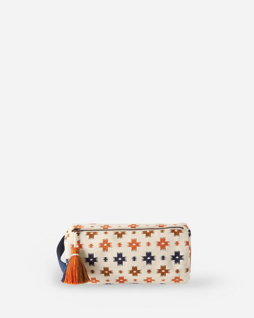 SWEET WATER COTTON COSMETIC BAG