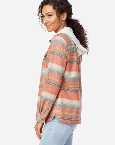 ALTERNATE VIEW OF WOMEN'S BOARD SHIRT IN COPPER MULTI STRIPE