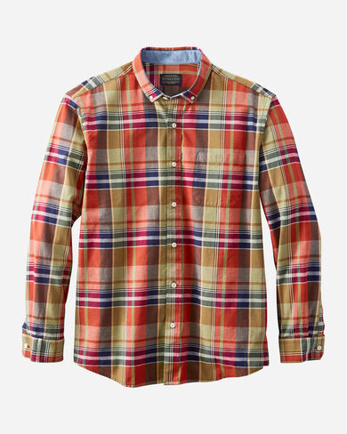 MEN'S LONG-SLEEVE MADRAS SHIRT