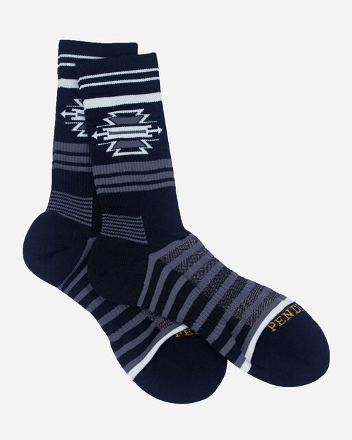 TSI MAYOH CREW SOCKS, BLACK, large