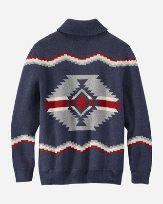 ALTERNATE VIEW OF MEN'S HIGHLAND CARDIGAN IN NAVY