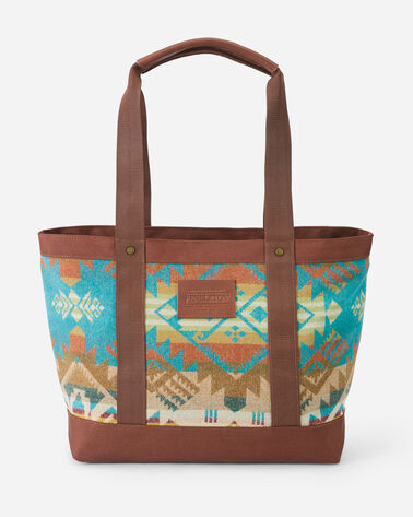 JOURNEY WEST ZIP TOTE