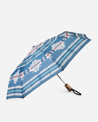 ALTERNATE VIEW OF CHIEF JOSEPH UMBRELLA IN TURQUOISE HEATHER