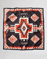 BANDANA IN BLACK/RED ROCK POINT