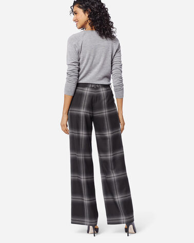 HOLLYWOOD AIRLOOM WOOL PANTS, GHOST PLAID, large