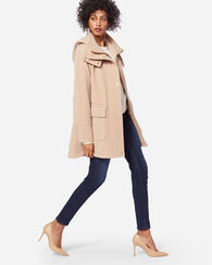 OVERSIZED WOOL DUFFEL COAT, SAND, large