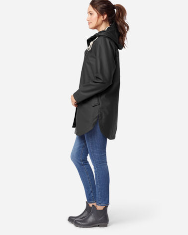 ADDITIONAL VIEW OF WOMEN'S NEWPORT WATERPROOF RAIN JACKET IN BLACK