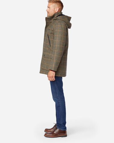 ALTERNATE VIEW OF MEN'S BAINBRIDGE METRO COAT IN TWEED