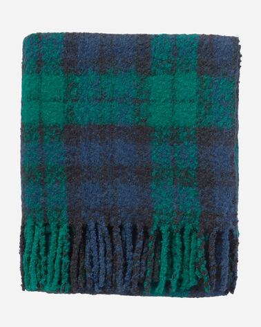 FRINGE THROW, BLACK WATCH, large
