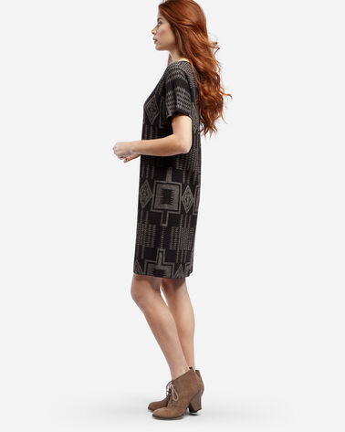 HARDING SWEATER DRESS, BLACK, large