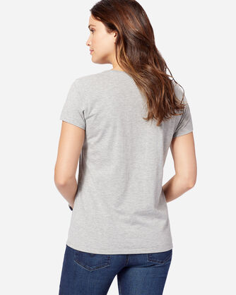 WOMEN'S SURFBOARD GRAPHIC TEE, GREY HEATHER, large