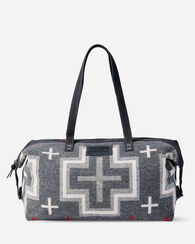 SAN MIGUEL RELAXED GYM BAG, GREY MIX, large