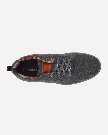 ADDITIONAL VIEW OF WOMEN'S PENDLETON WOOL SNEAKERS IN GREY HEATHER