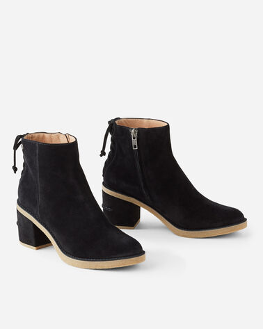 CORINNE LACE-BACK BOOTS, BLACK, large