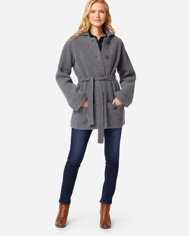 WOMEN'S COOS CURRY CARDIGAN IN GREY