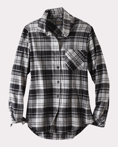 BOYFRIEND FLANNEL SHIRT, , large