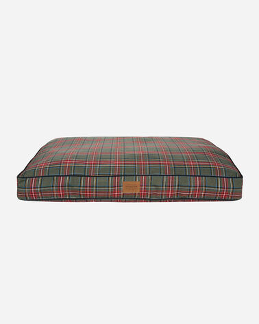 GREY STEWART TARTAN DOG BED IN SIZE LARGE