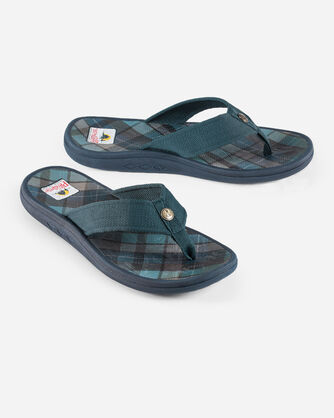MENS SURF PLAID SANDALS
