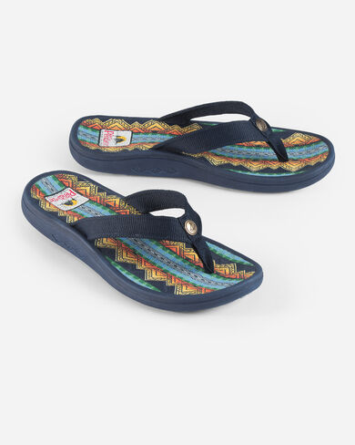 WOMEN'S AMERICAN TREASURES SANDALS IN NAVY