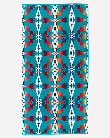 TUCSON BATH TOWEL IN TURQUOISE