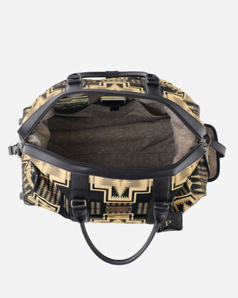 """ADDITIONAL VIEW OF 22"""" HARDING WHEELED DUFFEL BAG IN OXFORD HARDING"""