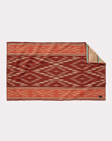 MENDOZA TRAIL SADDLE BLANKET, ADOBE, large