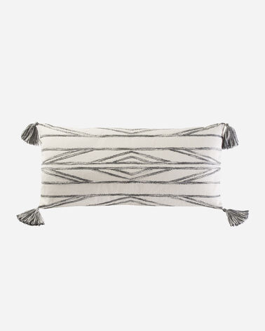RIO CANYON EMBROIDERED HUG PILLOW, IVORY/GREY MULTI, large