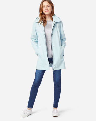WOMEN'S SONOMA WATERPROOF RAIN JACKET IN ICE BLUE