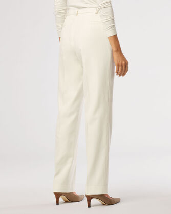 SEASONLESS WOOL PLEAT-FRONT TROUSERS, , large