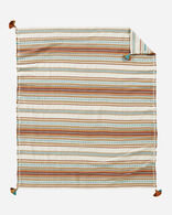 PALOMA STRIPE COTTON THROW