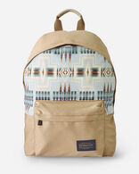 HARDING CANOPY CANVAS BACKPACK IN AQUA