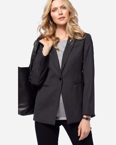 SEASONLESS WOOL BLAZER, OXFORD MIX, large