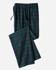 FLANNEL SLEEP PANTS, BLACK WATCH TARTAN, large