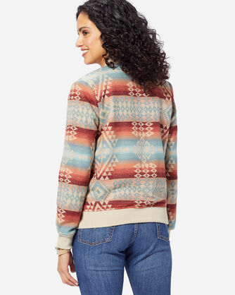 ADDITIONAL VIEW OF WOMEN'S CANYONLANDS JACQUARD BOMBER IN CANYONLANDS