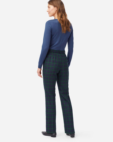 ALTERNATE VIEW OF WOMEN'S BLACK WATCH TRUE FIT TROUSERS IN BLACK WATCH TARTAN