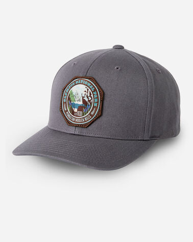 NATIONAL PARK HAT IN CHARCOAL OLYMPIC