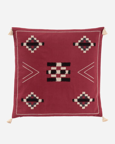 JICARILLA PILLOW IN RED