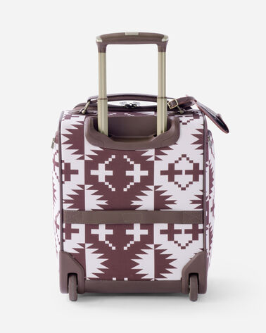 ADDITIONAL VIEW OF 16-INCH SPIDER ROCK ROLLING TOTE IN BURGUNDY
