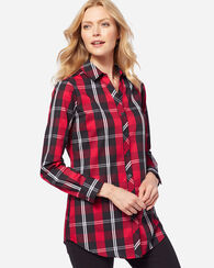 FAITH PLAID TUNIC