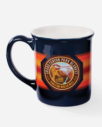 NATIONAL PARK COFFEE MUG, GRAND CANYON (NAVY), large