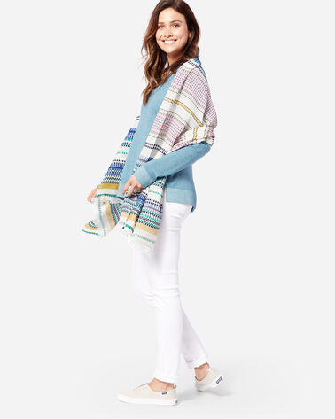 PALOMA STRIPE SCARF IN BRIGHT STRIPE